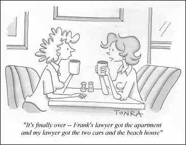 Lawyer Divorce cartoon 6-24-15